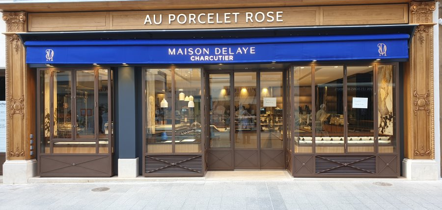 AU  PORCELET ROSE