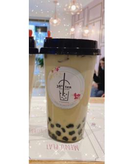 Bubble Tea au lait - Matcha