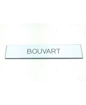 PLAQUE GRAVURE BOITE AUX...