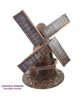 MOULIN  tout en chocolat