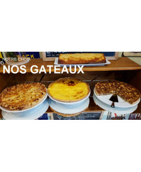 PLAISIR DES THÉS les gâteaux