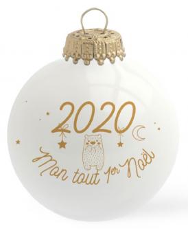 Boule de Noël - Mon 1 er Noel