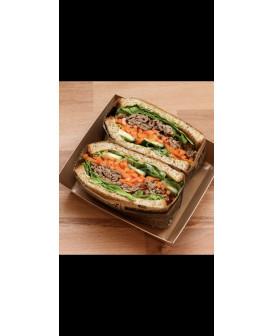 Sandwich au boeuf façon...
