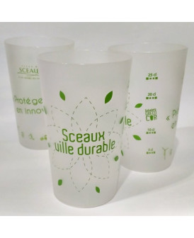 Gobelet, Sceaux ville durable