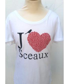T-shirt J'aime Sceaux adulte