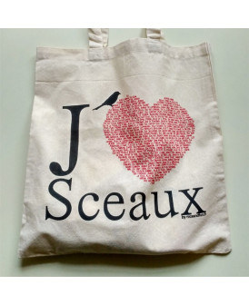 Sac en coton J'aime Sceaux