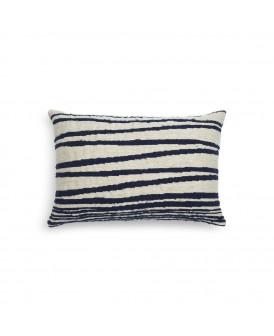 Coussin White Stripes -...